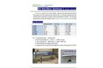 UV sterilizer for RO, DI and clean water