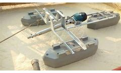 Surface jet aerator for wastewater lagoon, river, pond..