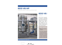ECO VS HP Series Low Temperature Vacuum Evaporator with Heat Pump - Datasheet