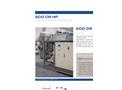 ECO CR HP Series Low Temperature Vacuum Evaporator with Heat Pump - Datasheet