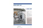 ECO DRY HP Series Low Temperature Vacuum Evaporator with Heat Pump - Datasheet