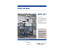 ECO VR WW Series Multiple Effect Vacuum Evaporators with Alternative Energy Source - Datasheet