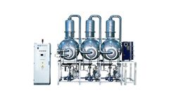 ECO - Model DPM Series - Multiple Effect Vacuum Evaporators with Alternative Energy Source