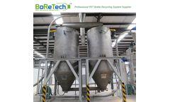 BORETECH - Model TL3000 - 3000KG/H PET Bottle Recycling Line