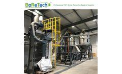 BORETECH - Model TL1500 - 1500KG/H Bottle to Bottle Grade PET Bottle Recycling System