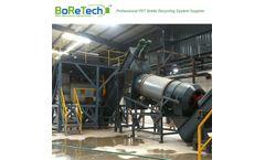 BORETECH - Model TL3000 - 3000KG/H Fiber Grade PET Bottle Recycling Plant