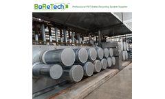 BORETECH - Model 50Ton/D - Polyester Staple Fiber Line