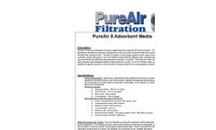PureAir - Model 8 - Adsorbent Air Filtration Media Brochure