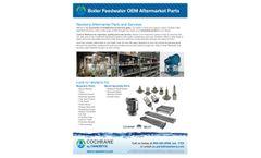 Boiler Feedwater OEM Aftermarket Parts