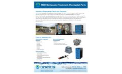 MBR Wastewater Treatment Aftermarket Parts