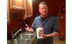 All Natural Garbage Disposal Cleaner - Safe Garbage Disposal Cleaner and Deodorizer Video