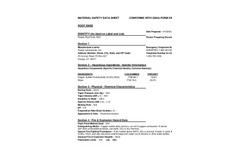 Root Endz MSDS Brochure