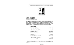 GC 20×50 Granular Activated Carbon Brochure