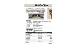 Silt Sifter - Bag Datasheet