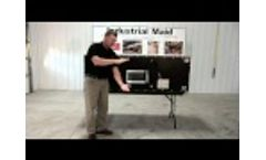 Industrial Maid - T3000 (Industrial Air Cleaner) Video