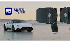UFI Multitube for Maserati MC20 - Video
