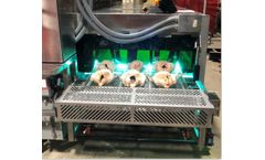 Organic Light Conveyor system for Disinfecting meats