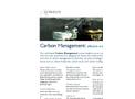Carbon Management Training Brochure