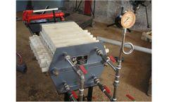 Model Series-100 - Lab Porter - Polypropylene Filter Press System