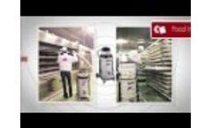 Delfin MTL202ds industrial vacuum for fine dust - Video