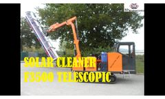 Solar Cleaner F3500 Telescopic - Video
