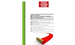 Model Alfa E Carpet - Sweeper Machine Brochure