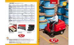 Model R850 - Sweeper Machine for Medium Areas Brochure