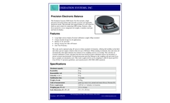 Precision Electronic Balance - Datasheet