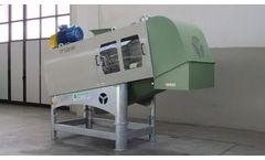 Tecnofer - Model CP500RU - Wet Waste Squeezer for Organic Waste