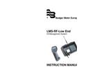 Badger Meter - LMS-RF - Manual Low End