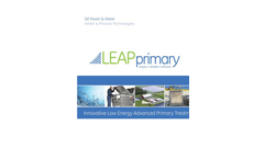 LEAPprimary - Innovative Low Energy Advanced Primary Treatment for MBR Brochure