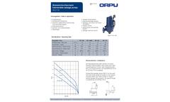 Orcut - Model TES - Submersible Sewage Pumps Brochure