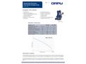 Orcut - Model TMS - Submersible Sewage Pumps