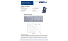 Orcut - Model TMS - Submersible Sewage Pumps Brochure