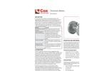Cox - Precision Gas Flow Turbine Meters Datasheeet