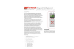 Flo-tech - Model MC4000 - Handheld Hydraulic System Analyzer Datasheet