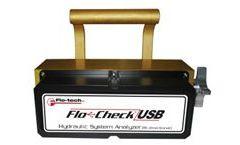 Flo-Check - USB Hydraulic System Analyzer