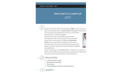 ECOMESURE MPS Mini Particle Sampler Brochure