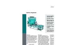 MultiFlex - Model MTF-A - Screw Weighfeeder - Brochure