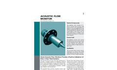 Schenck - Acoustic Flow Monitor - Brochure