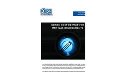 Kurz - Model 454FTB-WGF - Single-Point Insertion Flow Meter Sales Brochure