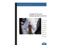 Cement Plant Lime Kiln Stack - Emission and Stack Gas Flow Monitoring Application Brochure