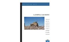 Landfill Gas Monitoring Application Brochure