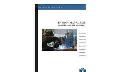 Energy Management - Compressed Air and Gas Application Brochure