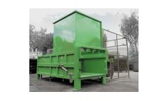 Model 2.5 Yard - Static Compactor With Bin Tipper (1100 ltr)