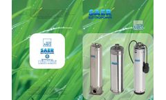 Model -MBS- MBSH- MBSL- Submersible Pump - Brochure