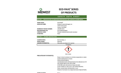Eco-Pave - Soil Stabilization Products SDS