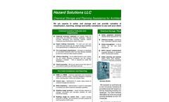 Chemical Storage & Risk Management Services Brochure
