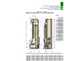 Counter-flow Packed Tower Scrubber Dimension Sheet (PDF 215 KB)