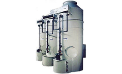 Counter-flow Packed Tower Scrubber